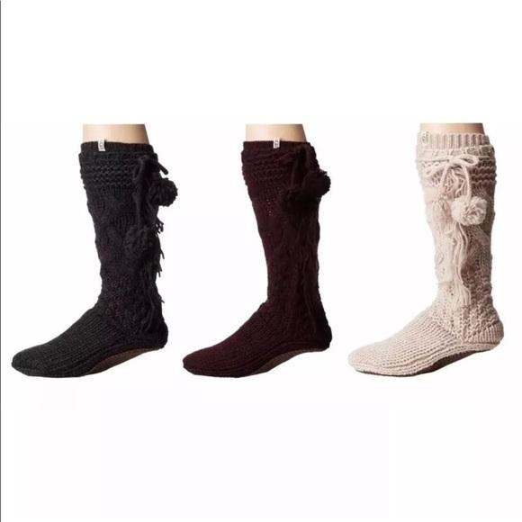dffa1656499 ❌❌❌SOLD OUT UGG Cozy Slipper Sock W/ Pompom NWT